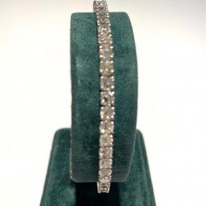 Ladies Diamond Tennis Bracelet